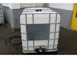 640 l IBC Tanks gebraucht M�nchen - Paletten, Big Bags & Verpackungen - Bild 1