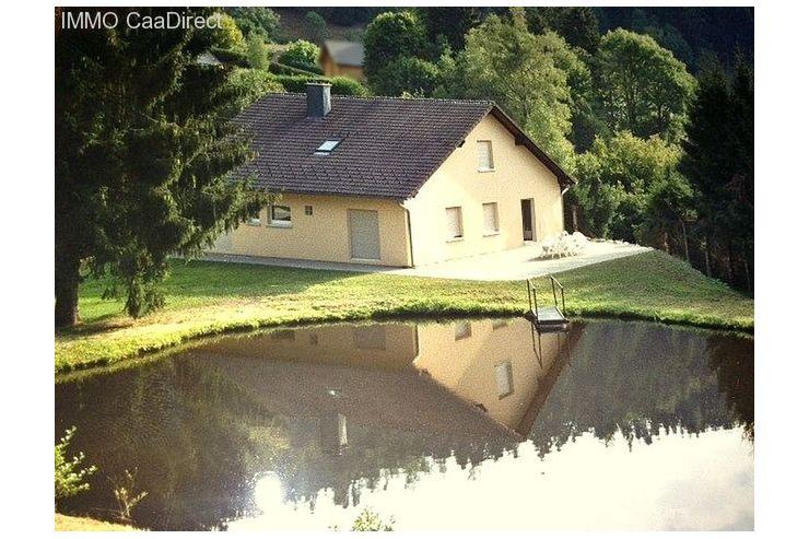 Teich Kaufen landhaus mit teich bach und wiesen im elsass 50 min basel