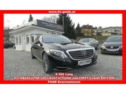 Mercedes Benz S 500 lang FOND TV NIGHTVISION FIRSTCLASS - Autos Mercedes-Benz - Bild 1