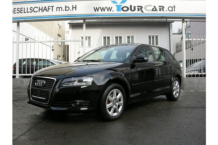 audi a3 sb ambiente 1 9 tdi dpf in wien auf. Black Bedroom Furniture Sets. Home Design Ideas
