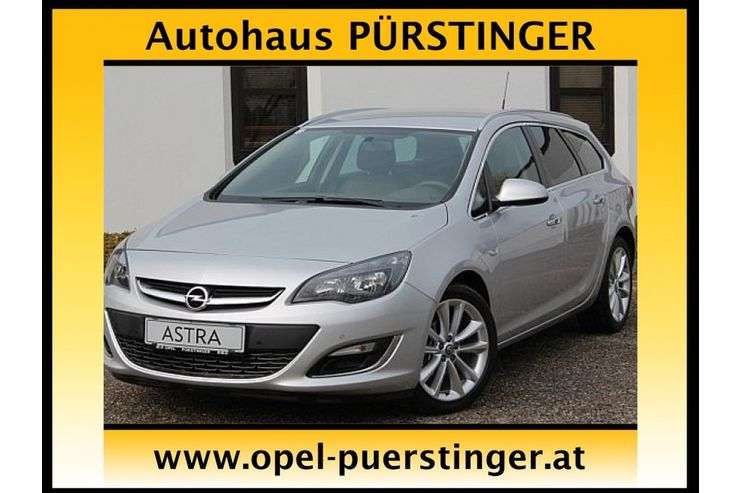 opel astra st 1 4 turbo ecotec cosmo start stop in ried im. Black Bedroom Furniture Sets. Home Design Ideas