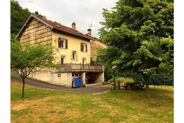 Familienfreundliches Haus in den Vogesen - 100 km von
