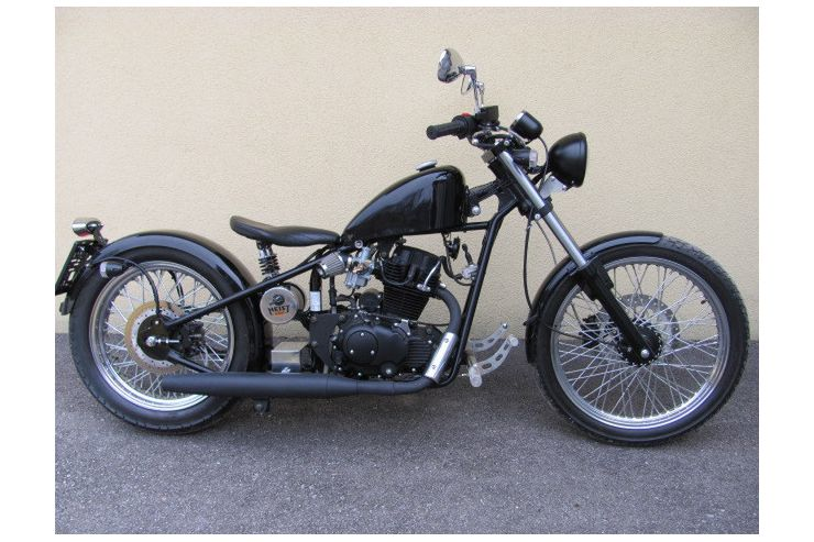 iron horse bobber 125 ccm in puch bei hallein auf. Black Bedroom Furniture Sets. Home Design Ideas