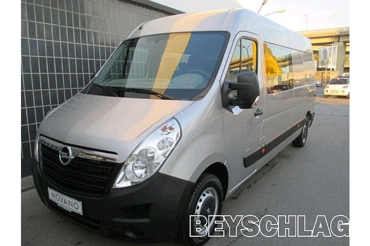 opel movano doppelkabine l3h2 2 3 cdti 3 5t in wien auf. Black Bedroom Furniture Sets. Home Design Ideas