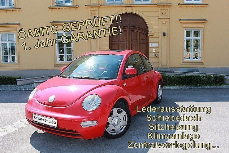 vw beetle 2 0 leder schiebedach sitzh amtc test in linz. Black Bedroom Furniture Sets. Home Design Ideas