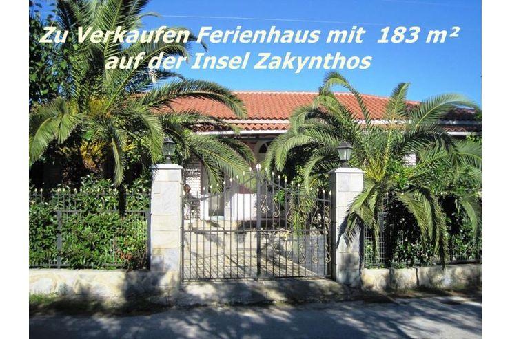zu verkaufen ferienhaus mit 183 m auf der insel zakynthos in zakynthos griechenland auf. Black Bedroom Furniture Sets. Home Design Ideas
