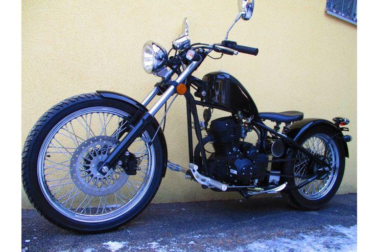 IRON HORSE BOBBER 125ccm 250 Motor