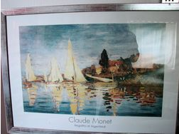 Claude Monet Regatta at Argenteuil 1872 - Poster, Drucke & Fotos - Bild 1